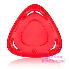 Санки-тарелка для взрослых Plastkon Метеор 60 красные (8595096938037) от Будинок іграшок