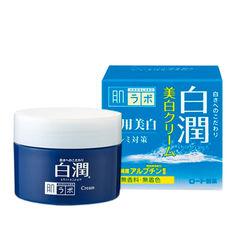 Акция на Отбеливающий крем с арбутином Hada Labo Shirojyun Medicated Whitening Cream 50 г (4987241128037) от Rozetka