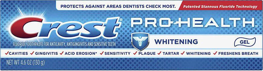 Зубная паста Crest Pro-Health Smooth Formula Whitening Power 130 г (37000976783) от Rozetka