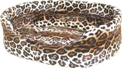 Лежанка Collar Теремок №3 овальная меховая 52 х 42 х 16 см (1935) от Rozetka