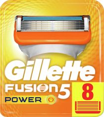Сменные картриджи для бритья Gillette Fusion5 Power 8 шт (7702018877621) от Rozetka