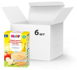 Упаковка первых детских органических хлопьев HiPP нежные 6 пачек по 250 г (4062300073500) от Rozetka