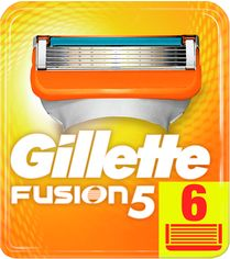 Сменные картриджи для бритья (Лезвия) Gillette Fusion5 6 шт (7702018918102) от Rozetka