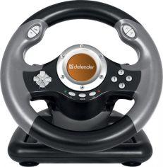 Акция на Дротове кермо Defender Challenge Mini LE PC (64351) Black от Територія твоєї техніки