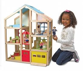 Кукольный домик Melissa&Doug с подъемником и мебелью (MD2462) от Y.UA