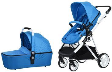 Универсальная коляска 2 в 1 Miqilong Mi Baby T900 Navy Blue (T900-U2BL01) от Y.UA