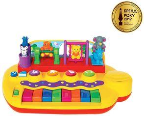Пианино Kiddieland Зверята на качелях (033423) от Y.UA
