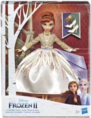 Акция на Кукла Hasbro Frozen Холодное сердце 2 Делюкс Анна (E5499_E6845) от Y.UA