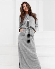 Теплое трикотажное платье от Gepur