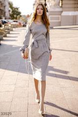 Акция на Замшеве плаття-міді от Gepur