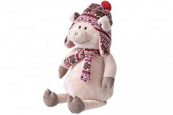 Акция на Мягкая игрушка Same Toy Свинка в шапке 45 сантиметров (THT719) от MOYO
