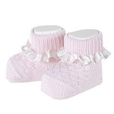 Носки-пинетки Pink Rabbit от Chicco