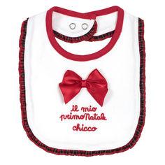 Слюнявчик Red & White от Chicco