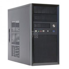 Корпус ПК CHIEFTEC Mesh CT-01B,с БП CHIEFTEC iArena GPA-450S8 450Вт черный (CT-01B-450S8) от MOYO