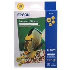Акция на Фотобумага EPSON Premium Glossy Photo Paper, 50л. (C13S041729) от MOYO