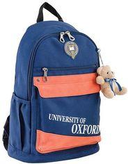 Акция на Рюкзак подростковый Yes Ox 288, синий (554011) от Y.UA
