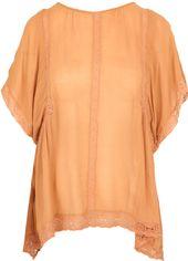 Блузка Zara 0881300926 S Светло-коричневая (2000000123318) от Rozetka