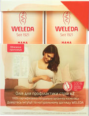 Акция на Набор Weleda с маслом для профилактики растяжек ДУО 2 х 100 мл (9780201379624) от Rozetka