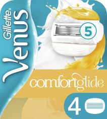 Акция на Сменные картриджи для бритья (Лезвия) женские Venus ComfortGlide Olay 4 шт (7702018267637) от Rozetka