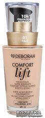 Тональная основа Deborah Comfort Lift вельветовая 01 Fair (8009518122565) от Rozetka
