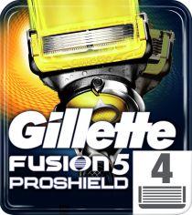 Сменные картриджи для бритья Gillette Fusion5 ProShield 4 шт (7702018412488) от Rozetka