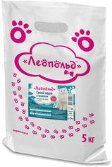 Сухой корм в гранулах Леопольд для взрослых кошек с рыбой 5 кг (4820185491983) от Rozetka