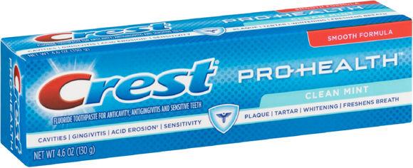 Зубная паста Crest Pro-Health Smooth Formula Clean Mint 130 г (37000976738) от Rozetka