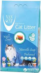 Наполнитель для кошачьего туалета Van Cat Super Premium Quality Marseille Soap Бентонитовый комкующий 10 кг (12 л) (8699245856095) от Rozetka