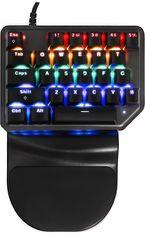 Акция на Клавиатура проводная Motospeed K27 USB Black ENG Outemu Red (mtk27mr) от Rozetka