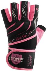 Перчатки для тяжелой атлетики Power System Rebel Girl PS-2720 M Pink (PS-2720_M_Pink) от Rozetka