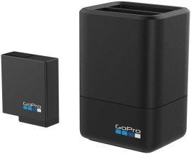Акция на Зарядний пристрій GoPro Dual Battery Charger + Battery (HERO5 Black) (AADBD-001-RU) от Територія твоєї техніки