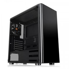 Акция на Корпус Thermaltake V200 Tempered Glass Edition Black (CA-1K8-00M1WN-00) от MOYO