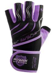 Перчатки для тяжелой атлетики Power System Rebel Girl PS-2720 L Purple (PS-2720_L_Purple) от Rozetka