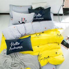 Акция на Комплект постельного белья MirSon Бязь Premium 19-2508 Cascata 143х210х2 (2200001163188) от Rozetka