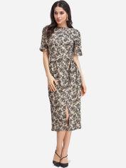 Платье ISSA PLUS 10988A S Бежевое (issa2000232437016) от Rozetka