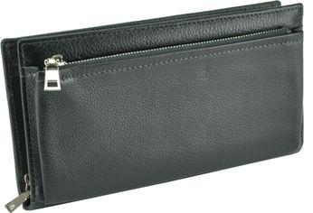 Мужское портмоне кожаное Tiding Bag TR91890A Черное от Rozetka