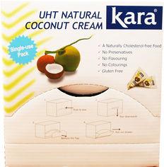 Акция на Сливки кокосовые Kara пастеризованые 24% 65 мл х 46 шт (28886303210065) от Rozetka