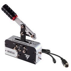 Проводной ручной тормоз Thrustmaster TSS Handbrake Sparco Mod+ PC/Xbox One/PS4 Black (4060107) от Rozetka