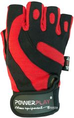 Перчатки для фитнеса PowerPlay 1598C L Black/Red (PP_1598C_L_Black/Red) от Rozetka