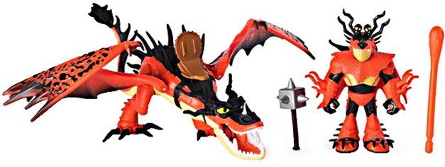 Акция на Набор Spin Master Dragons Как приручить дракона - 3 из дракона Кривоклыка и всадника Сморкалы (SM66621/7328) (778988167328) от Rozetka