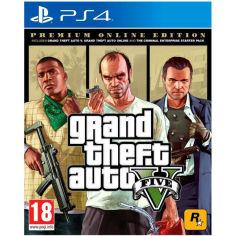 Акция на Игра Grand Theft Auto V Premium Online Edition для PS4 (5026555426886) от Foxtrot