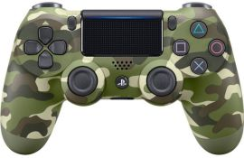 Акция на Беспроводной геймпад SONY Dualshock 4 V2 Green Cammo для PS4 (9895152) от MOYO