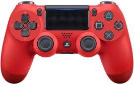 Акция на Беспроводной геймпад SONY Dualshock 4 V2 Red для PS4 (9894353) от MOYO