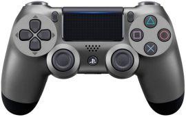 Акция на Беспроводной геймпад SONY Dualshock 4 V2 Steel Black для PS4 (9357179) от MOYO