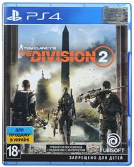 Игра Tom Clancy's The Division 2 (PS4, Русская версия) от MOYO