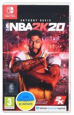 Акция на Игра NBA 2K20 (Nintendo Switch, Английский язык) от MOYO