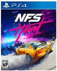 Диск Need For Speed. Heat (Blu-ray, Russian version) для PS4 от Citrus
