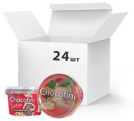 Упаковка пасты шоколадно-арахисовой Chocofini Krem 24 шт х 200 г (881645) от Rozetka
