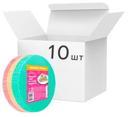 Упаковка вафельных коржей для торта Lekorna Радуга 140 г х 10 шт (4820143331153) от Rozetka
