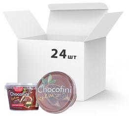 Акция на Упаковка пасты шоколадной Chocofini Krem 24 шт х 200 г (881644) от Rozetka